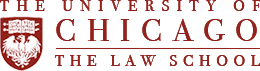 The Univeristy of Chicago The Law School logo
