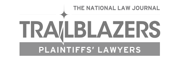 Trailblazers Plaintiffs' Lawyers Award Logo