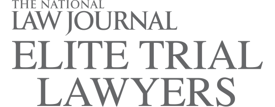 Elite Trial Lawyers award logo