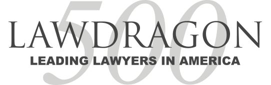 LawDragon 500 Leading Lawyers award logo