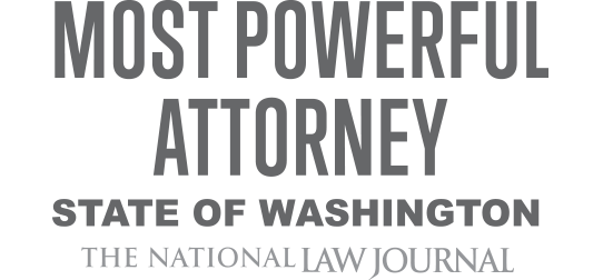 Most Powerful Attorney award logo